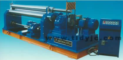 机械式三辊对称卷板机_产品展示_南通特力锻压机床有限公司