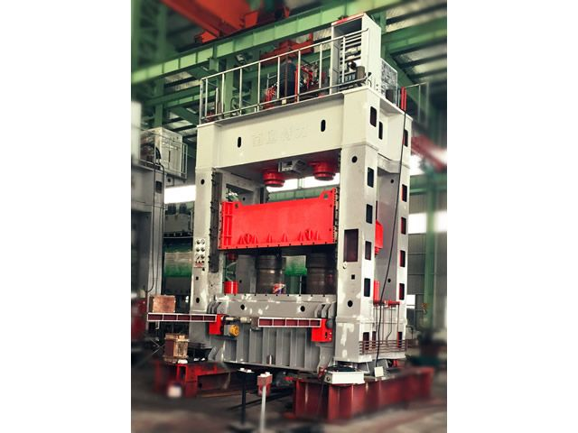 630T框架伺服液压机